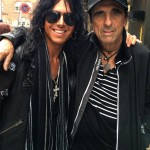 Maryann Cotton and Alice Cooper paparazzi