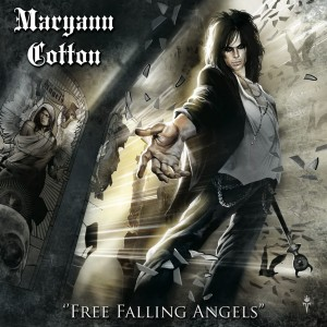 Free Falling Angels album cover - Maryann Cotton 2012